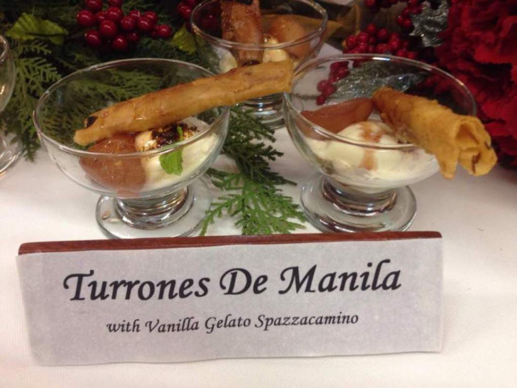 Turon -Pears and Apples Poached in Red Wine 1