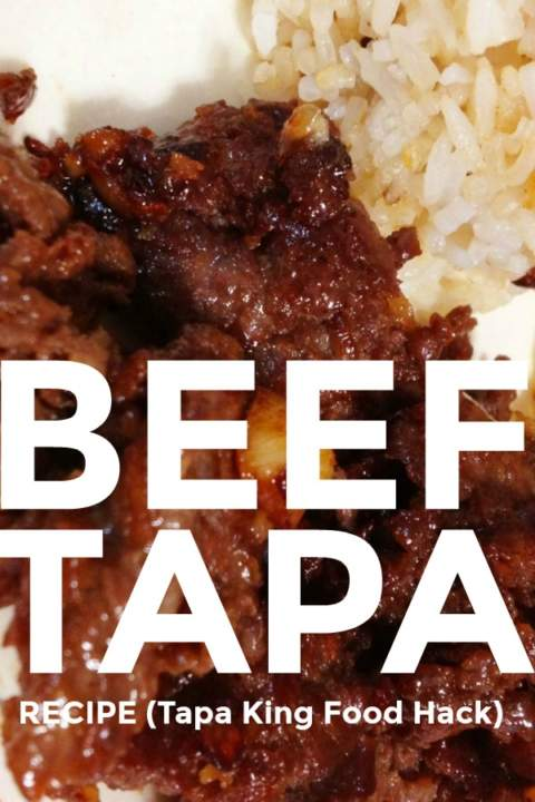 Beef Tapa Recipe - Relax lang Mom Filipino Food Blog
