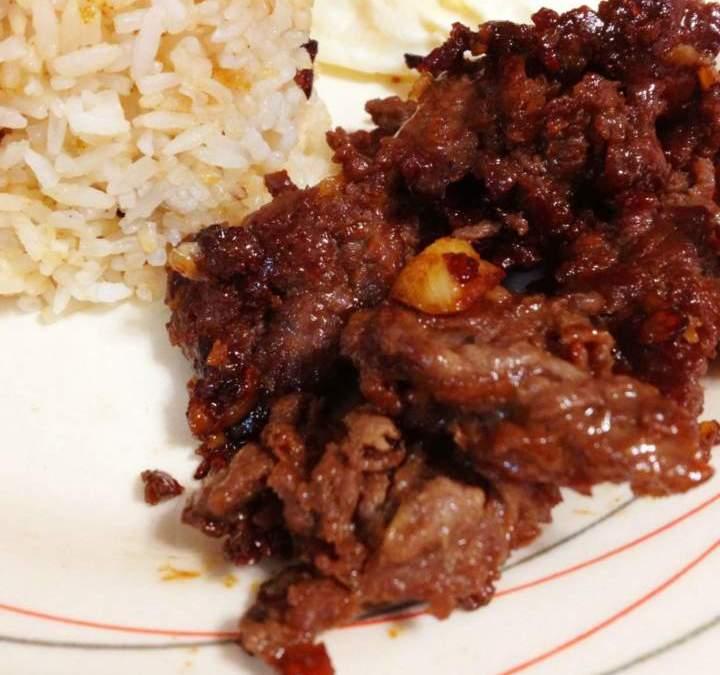Beef Tapa Recipe (Tapa King)
