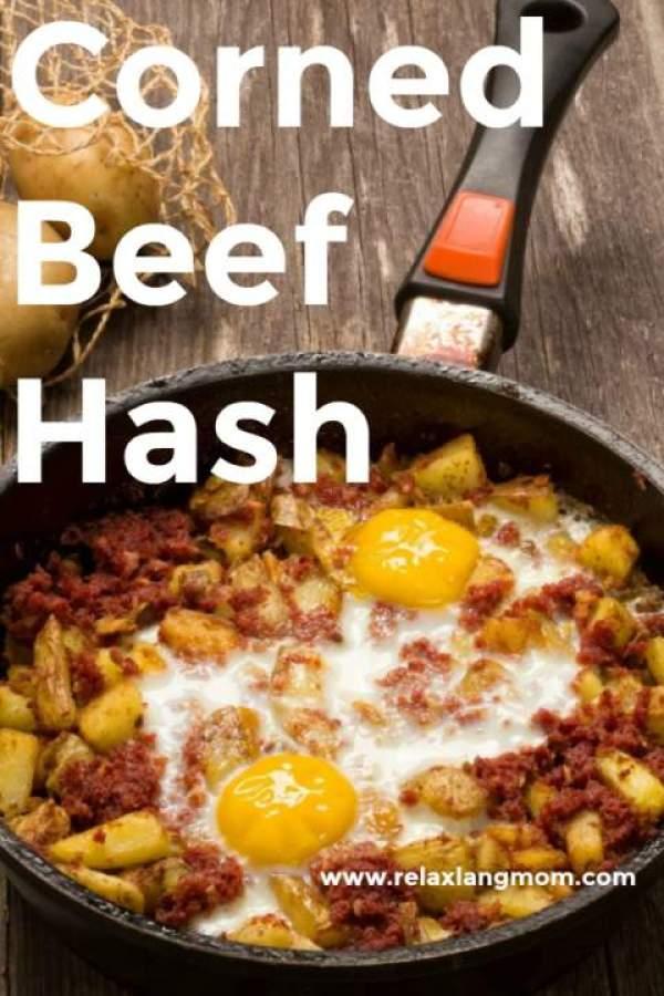 Corned Beef Potato Hash Recipe - Relax lang Mom Filipino Food Blog and Recipes