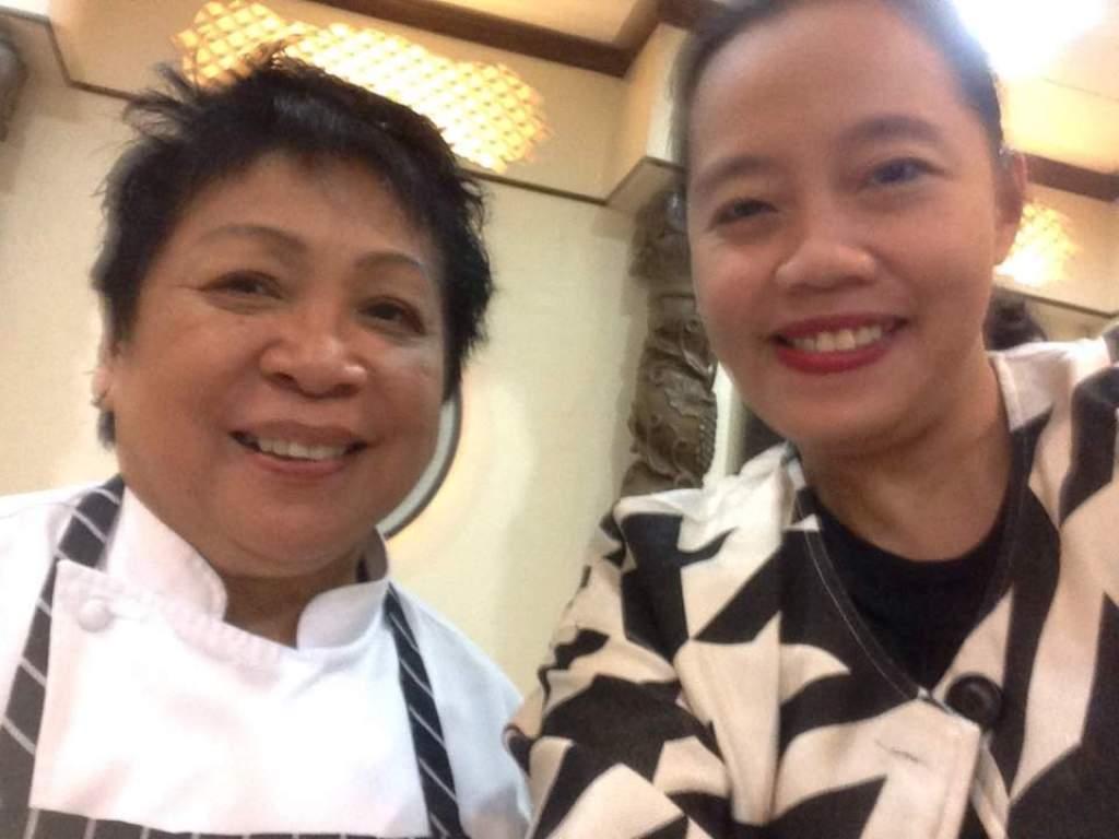 Relaxlangmom with Chef Myrna Segismundo