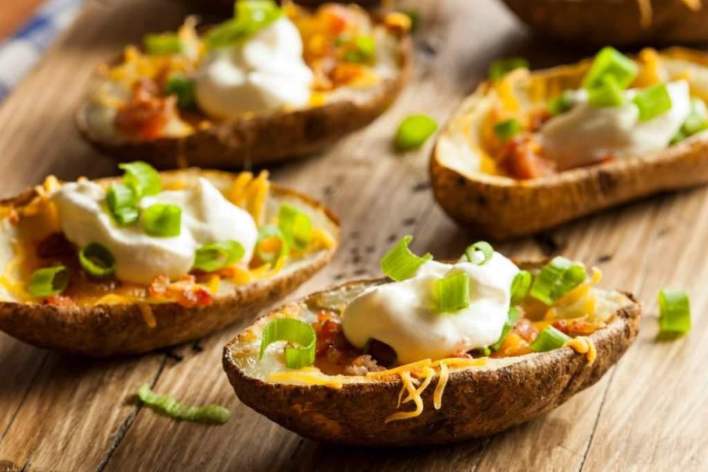 Homemade Potato Skins - Relax lang Mom Filipino Food Blog and Recipes