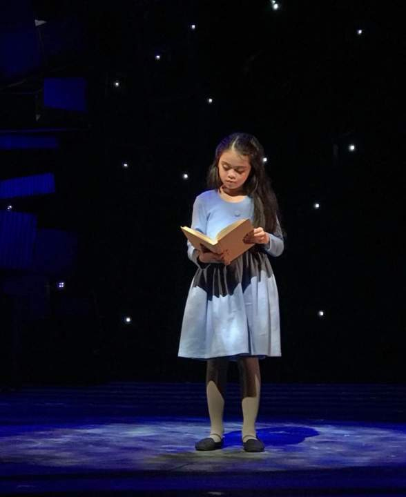 Matilda in Manila Review (Esang playing as Matilda)