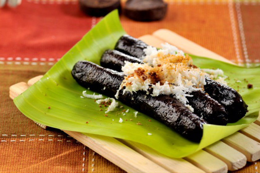 Tsokolate Puto Bumbong -Pinoy Christmas Recipes