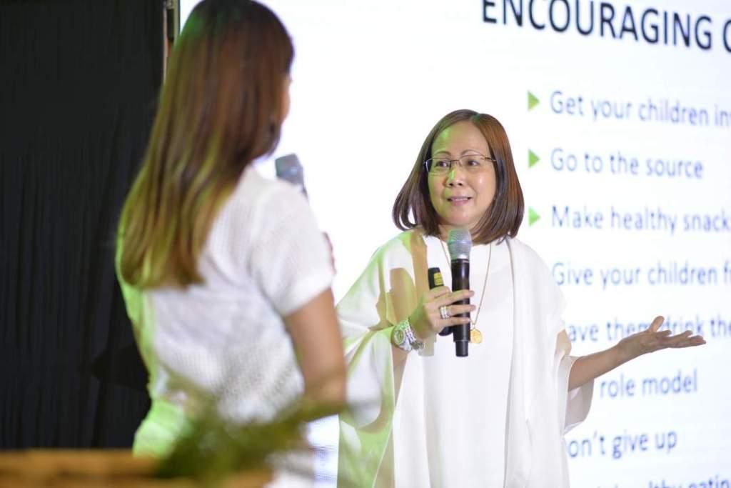 promil organic launch _Wyeth Nutrition Medical Drirector Dr Neva Luna Batayola on encouraging your children to eat healthy