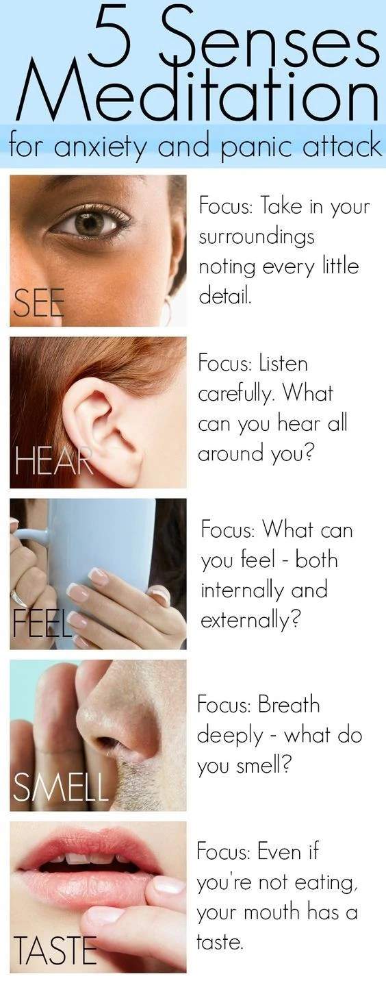 5 senses exercise