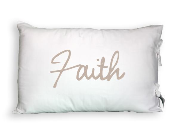 Faceplant Dreams Faith Pillowcase