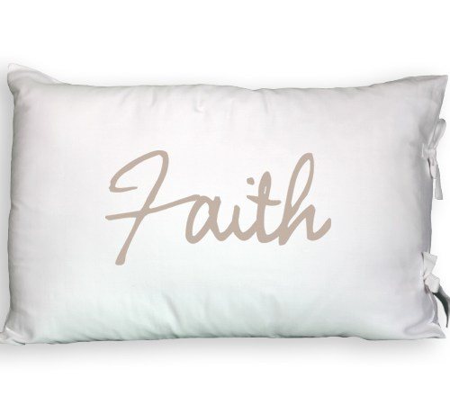 Faceplant Dreams Faith Pillowcase