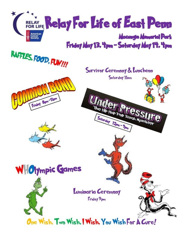 #RelayForLife of East Penn in Macungie, PA May 13 and 14 2016