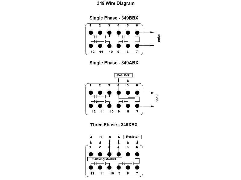 Item # 349BBXP-85-135VAC, 349 Series