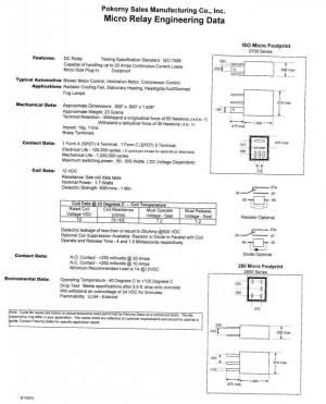 12 Volt Micro 280 footprint SPST Resistor
