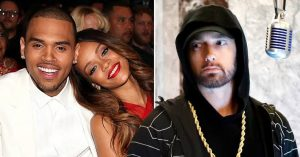 , Eminem Apologizes To Rihanna For Supporting Chris Brown, Relay Vibes
