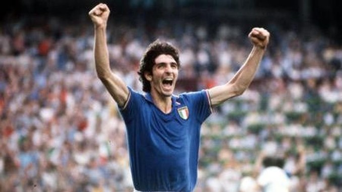 Legendary Italy striker and 1982 World Cup hero, Paolo Rossi dies at 64