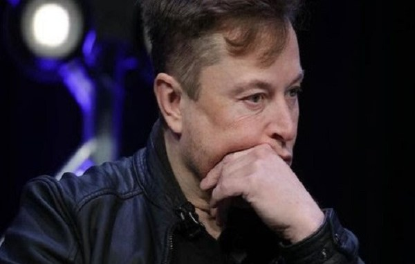 Elon Musk falls to second richest person