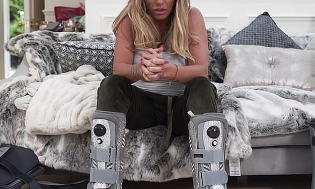 Katie Price reveals she's been registered disabled