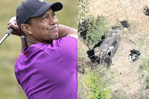 Tiger Woods is awake and recovering