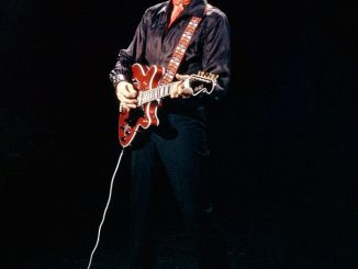 Elvis Presley's electric guitar sells for £450,000 at auction