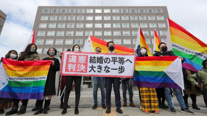 Japan Court rules failure to recognize same-sex marriage as 'unconstitutional