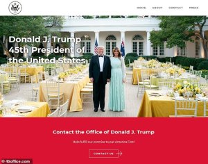 Trump Launches Official New Website, Trump Launches Official New Website Boasting of his 'Magnificent Legacy', Relay Vibes