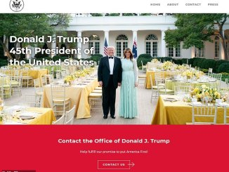 Trump Launches Official New Website Boasting of his 'Magnificent Legacy'