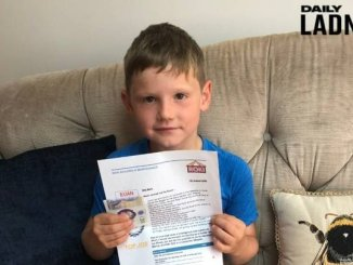 Child Earned his First Payslip for Being Inquisitive
