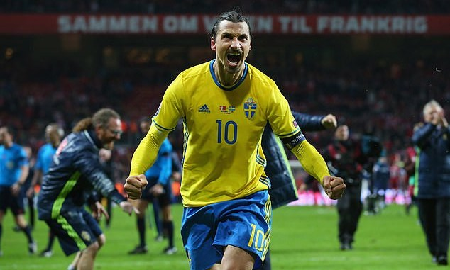 Zlatan Ibrahimovic to represent Sweden at the Euros at age 39