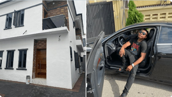 Singer Olakira acquires his 1st house and a new car