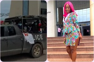 Actress Efia Odo and 14 other #FixTheCountry campaigners arrested, Actress Efia Odo and 14 other #FixTheCountry campaigners arrested, Relay Vibes