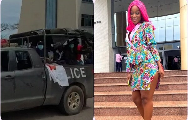 Actress Efia Odo and 14 other #FixTheCountry campaigners arrested