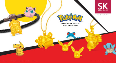 Get Supercharged this Year of the Rat with SK Jewellery Pokémon Collection - Brand Spur