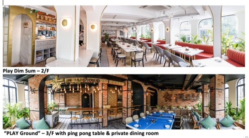 Innovative Cantonese restaurant PLAY Dim Sum opens in Ho Chi Minh City - Brand Spur