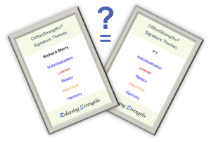 Strengths twins strengthsfinder frequency same top 5 report pair search find match gallup theme