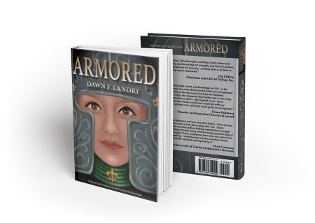 ARMORED Dawn F. Landry book strengths cancer heart attack