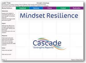 Cascade Strengths Mindset Resilience