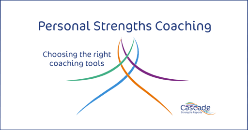 Personal strengths coaching tools