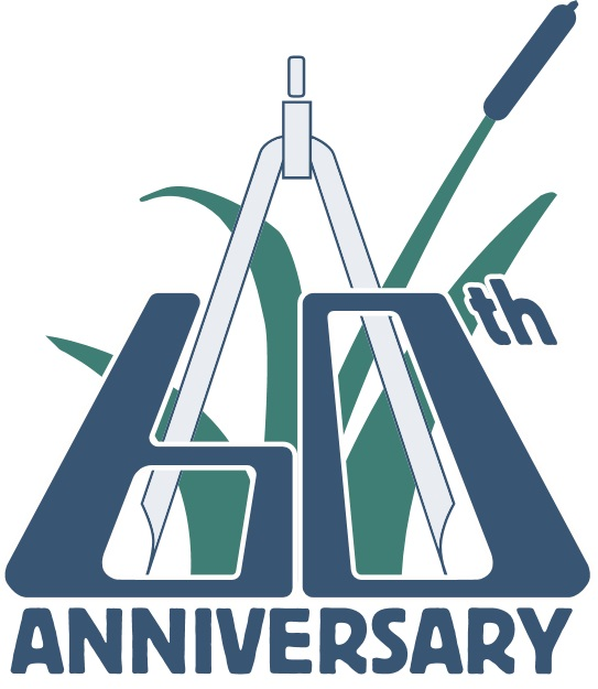 Robert E. Lee & Associates, Inc., logo,60th Anniversay logo,Civil Engineering, GIS, civil engineering careers,wi civil engineering firms, transportation engineering and planning,stormwater management systems,Transportation Engineering, civil engineering employment, Green Bay engineering firms
