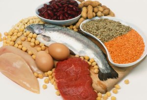 healthy nutrition protein carbs and fats