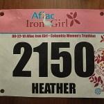 Iron Girl Columbia MD race report