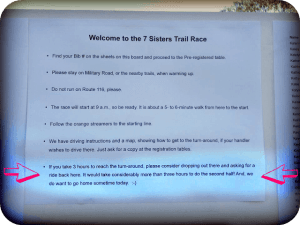 7 Sisters Trail Race Recap: Ignorance is Bliss