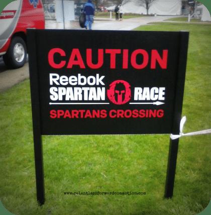 Reebok Spartan Invitational Sign