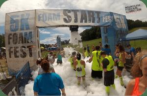 2014 New England 5K Foam Fest Review