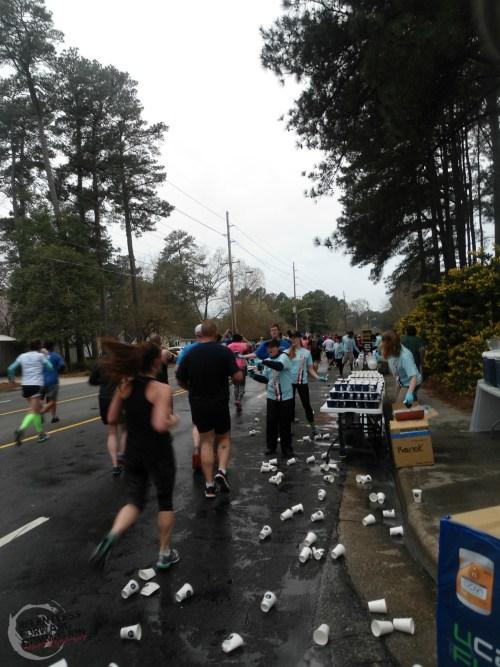 All American Marathon Aid Station
