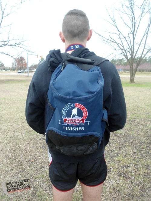 All American Marathon backpack