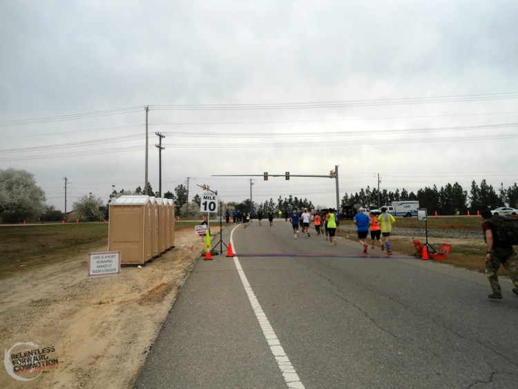 All American Marathon split