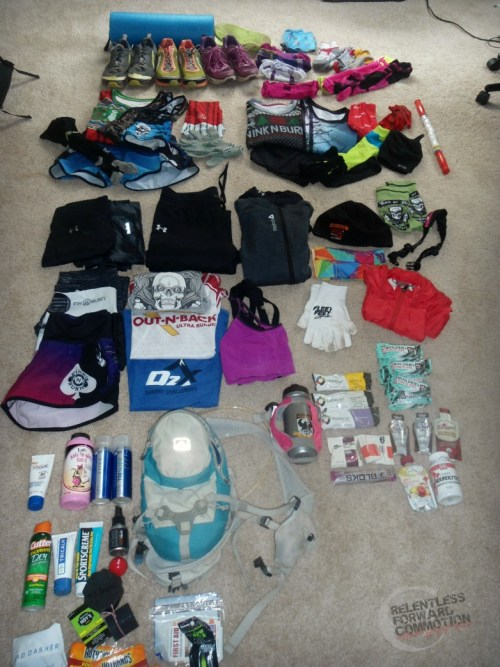 packing for an ultra