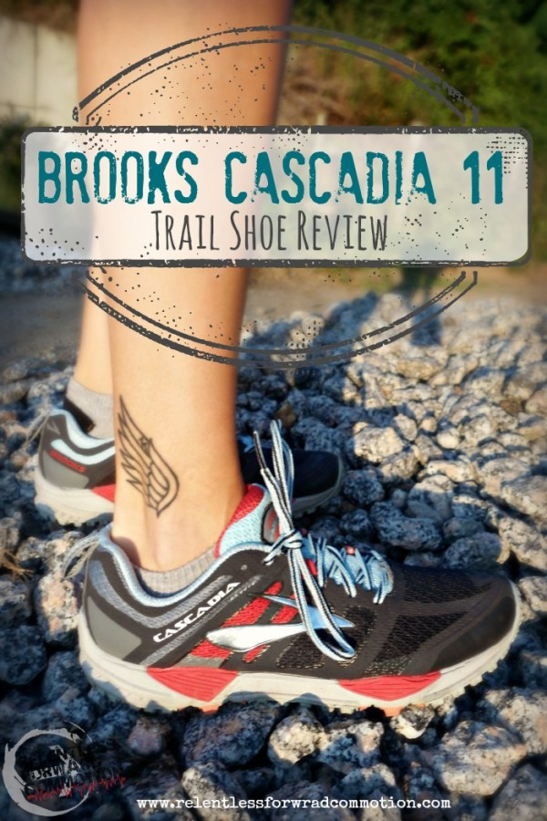 timeless design 2d59b b13bf Review: Brooks Cascadia 11 - RELENTLESS FORWARD COMMOTION