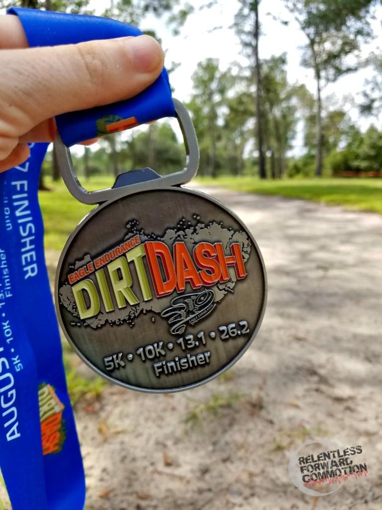 The Dirt Dash Medal