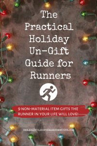 The Practical Holiday Un-Gift Guide for Runners