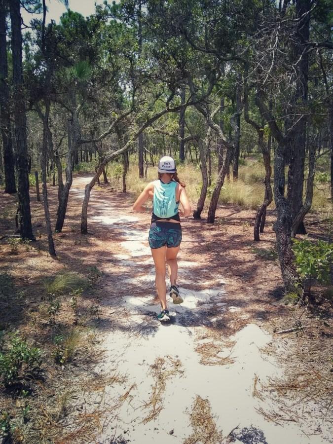 Trail Running at Carolina Beach State Park