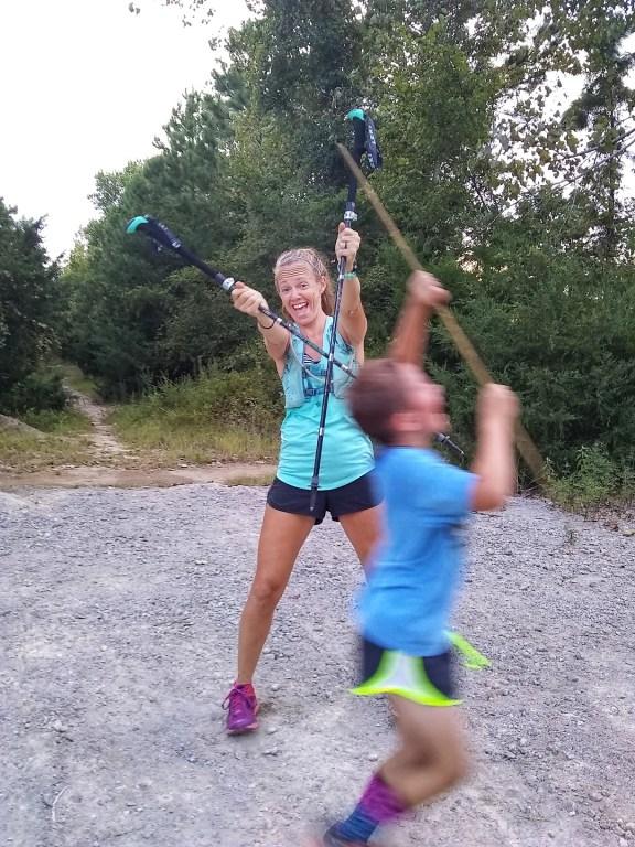Trekking Poles for Runners